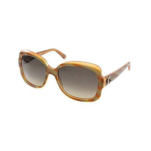 Gucci GG 3190 0S0 Square Oblong Plastic Sunglasses B017W128AE