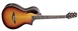 Peavey Composer Acoustic Travel Guitar with Gigbag - Sunburst