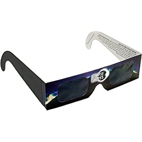 Eclipse Glasses - CE Certified Safe Solar Eclipse Glasses - Viewer and filters (5 Pack) - Annular Solar Eclipse 2012