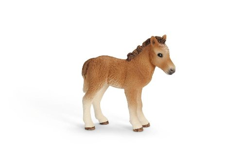Schleich Dartmoor Pony Foal Toy Figure - 1