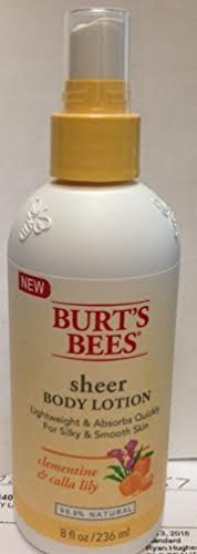 burts-bees-sheer-body-lotion-clementine-and-calla-lily-8-oz-by-burts-bees