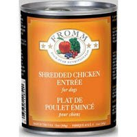 Fromm Four-Star Canned Dog Food - Shredded Chicken Entree (12/13oz cans) fromm e the art of loving