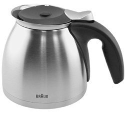 Braun Coffeemaker Metal Thermo Jar Appliances for Home
