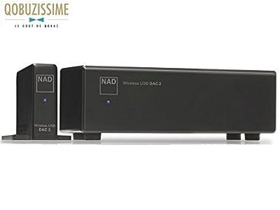 NAD DAC 2 Wireless 24Bit/96kHz USB Digital-to-Analog Converter