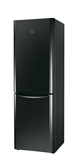 Indesit BIAA 13P F K réfrigérateur-congélateur - réfrigérateurs-congélateurs (Autonome, Noir, Bas-placé, A+, SN, ST, T, Non, 4*)