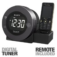 Sony ICFC8WM Walkman Clock Dock - Black