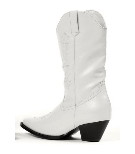 Rodeo Boots - White Child Shoes