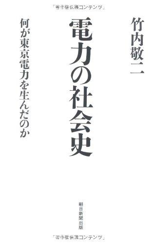 電力の社会史 何が東京電力を生んだのか (朝日選書)