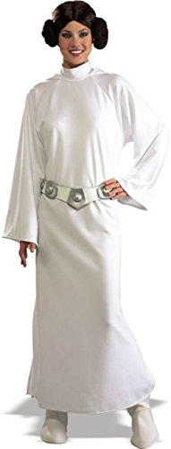 Rubies Womens Deluxe Star Wars Princess Leia Halloween Themed Adult Fancy Dress