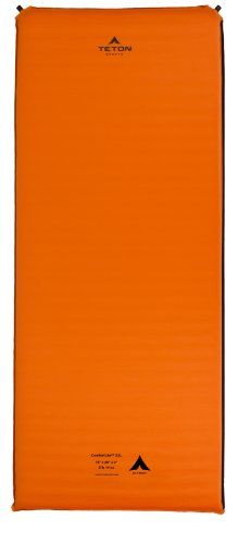 TETON Sports Comfortlite Regular Self Inflating Camp Pad with Velcro Side Strips (72
