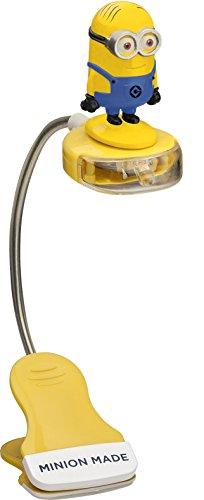 Despicable Me - Minions 90555 - Lampada da scrivania LED con Clip e Figura 3D 30 cm in Confezione blister