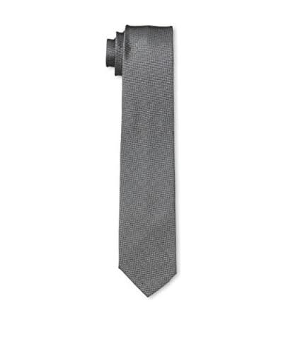 John Varvatos Checkered Tie, Grey