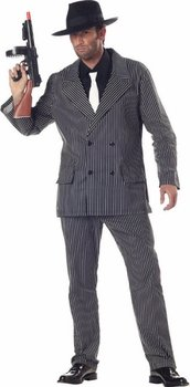Adult Al Capone Gangster Costume (Size:X-Large)