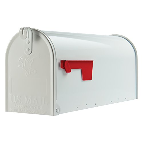 Inexpensive Steel Mailbox (multiple colors)