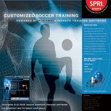 SPRI VIC-SR V.I.C.T.O.R. Training Pack with VICTOR Soccer Software