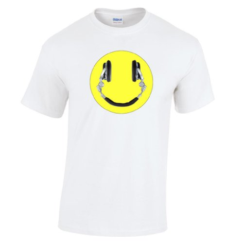 Headphone Smiley Face DJ