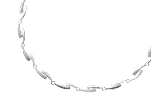 Collier silber  FOSSIL Damen Silber Collier 925 Sterling Silber 42,5 cm JF11826040 ...