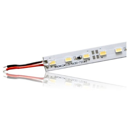 Generic 50Cm Led Strip Bar Light With Aluminium Alloy Shell, Warm White Dc 12V, 36 Smd 5630 Led Light Hard Rigid