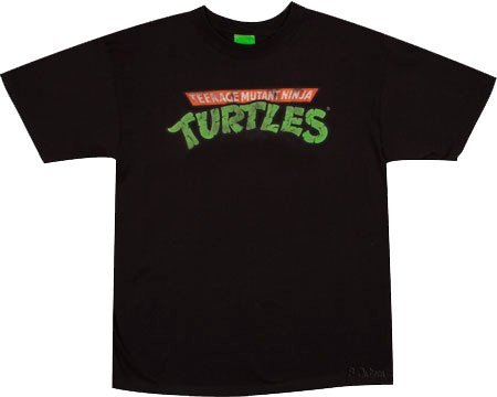 Tartarughe Ninja Logo slavato Ufficiale T-Shirt - Teenage Mutant Ninja Turtles