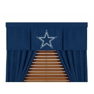 NFL Dallas Cowboys MVP Valance at Amazon.com