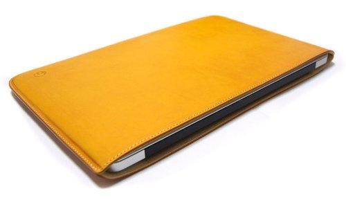 ハンドメイドレザーケース forMacBookAir 11インチ(キャメル)