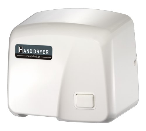 Fastdry HK1800PS-WP Hand Dryer - 110/120volt - Push Button with Wall Plug (120 Vac Plug compare prices)