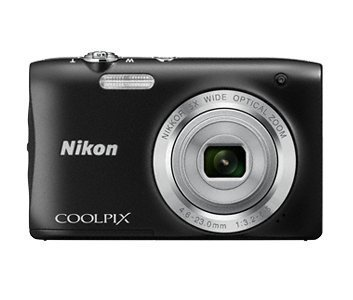 Nikon Coolpix S2900 Point and Shoot Digital Camera with 5x Optical Zoom (Black) – International Version (No Warranty)