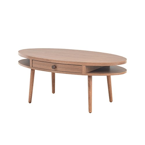 ブラウン/alum アルム センターテーブル ローテーブル ウッドテーブル テーブル ロー コンパクト 机 引き出し 引出し ブラウン 収納 省スペース ノルディック 北欧