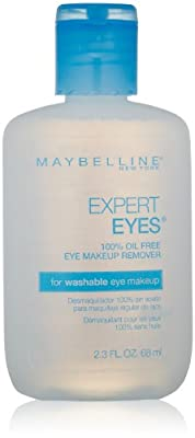 Maybelline Expert Eyes 100% Oil-Free Eye Makeup Remover (Pack of 2)