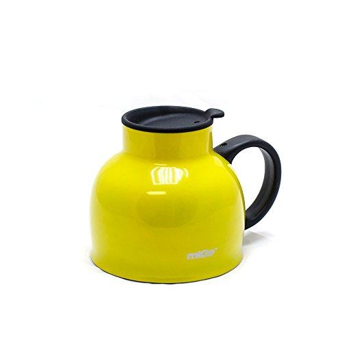 Migo Double-Wall Stainless Steel Thermal Chubby Mug 16Oz Yellow