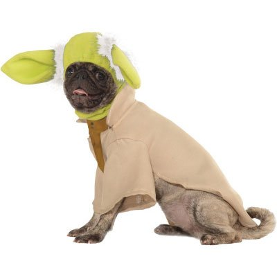 Rubies Costume Star Wars Collection Pet Costume, Small, Yoda - 1