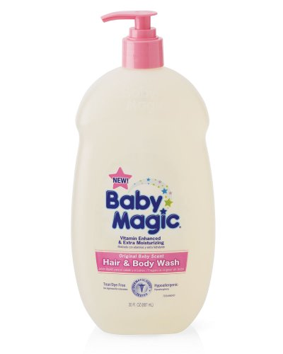 Imagen de Gentle Baby Magic Hair y Scent Body Wash Bebé Original, 30-oz