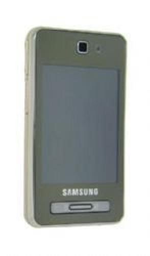 Samsung F480 Unlocked Phone with Touchscreen, 5 MP Camera, MP3/Video Player, and MicroSD Slot--International Version with No Warranty (Topaz Gold)