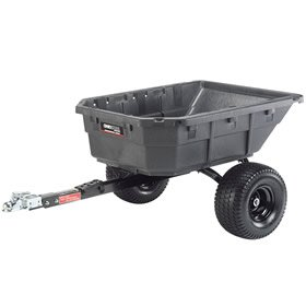 Ohio Steel Poly Swivel ATV Cart - 1250-Lb. Capacity, 12.5 Cu. Ft., Model# 126M02-1016-F1 by Ohio Steel