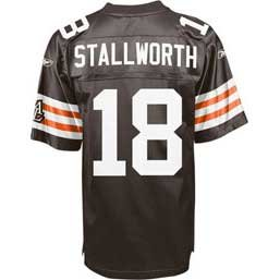 Cleveland Browns Donte Stallworth Home Replica Jersey (L) at Amazon.com