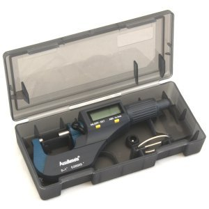 AccuRemote 0-1 DIGITAL ELECTRONIC OUTSIDE MICROMETER LARGE LCD