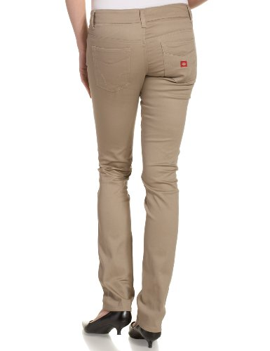 Popular Dickies Girl HH164 Juniors 5 Pocket Skinny Pant Our Low Rise &quotClassic Skinny&quot Five Pocket Pant With Our Signature &quotDickies&quot Back Pocket Embroidery Dickies Girl HH164 Juniors 5 Pocket Skinny Pant Our Low Rise &quotClassic