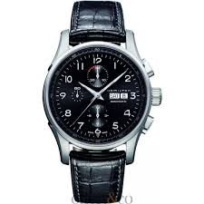 Hamilton Jazzmaster Conservation Automatic Chronograph Black Dial Mens Watch H32576735