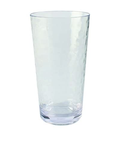 Pebbled Acrylic Large Highball Glass, Clear
