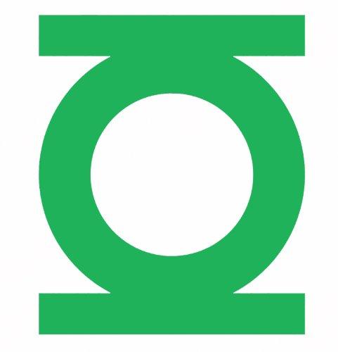 Licenses Products DC Comics Originals Green Lantern Rub On Sticker