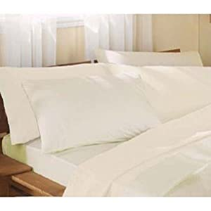 Amazon Fitted Sheet Full Bed Ivory
