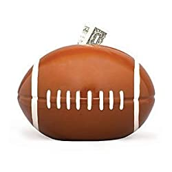 Football Sports Themed Ceramic Kids Piggy Bank Bedroom Decor
