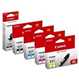 Canon CABUNDLE17 Cartouche d'Encre Multipack de 5 - Best Reviews Guide