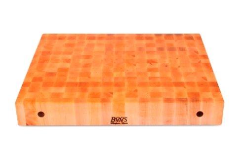 John Boos Maple Wood End Grain Butcher Block Cutting Board, 30 Inches x 24 Inches x 4 Inches (30 Inch Butcher Block compare prices)