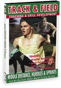 Track & Field: Middel Distance Hurdles & Sprints [DVD] [Import]
