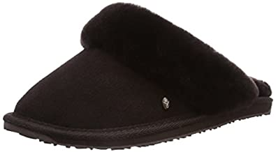 Emu Womens Jolie Slippers W10015 Chocolate 3 UK, 35 EU, 5 US, Regular
