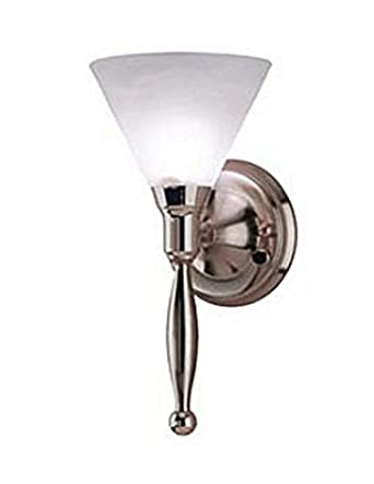 Contemporary Rv 12 Volt Sidewall Light - Satin Nickel