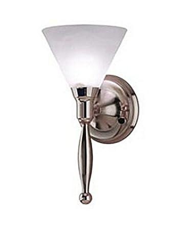 12 Volt Bathroom Wall Lights : Contemporary Rv 12 Volt Sidewall Light - Satin Nickel Finish - Wall Sconces - Amazon.com