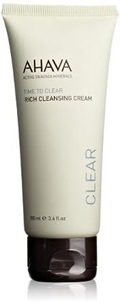 AHAVA Time to Clear Rich Cleansing Cream, 3.4 fl. oz.