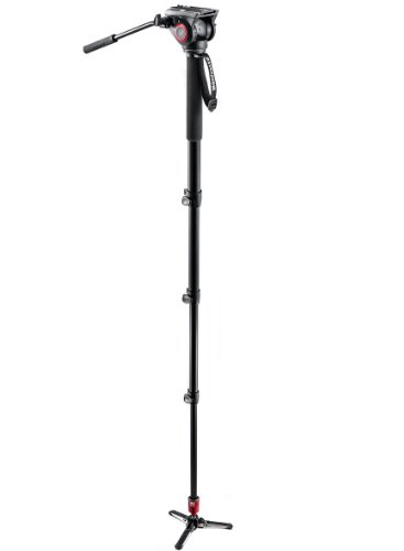 Manfrotto MVM500A Aluminum Fluid Monopod with 500 Head Black Friday & Cyber Monday 2014